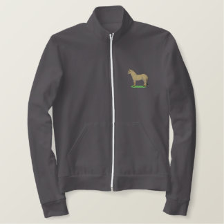 Fjord Horse Embroidered Jacket