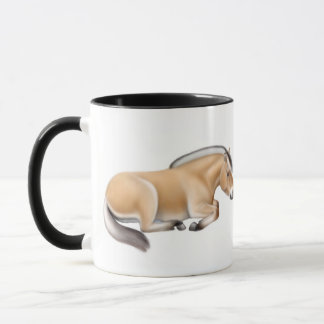 Fjord Horses at Rest Mug