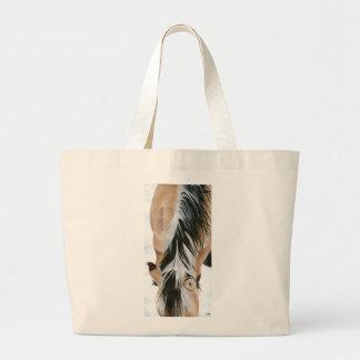 Fjord mane large tote bag