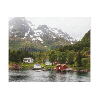 Fjord - Norway Canvas Print