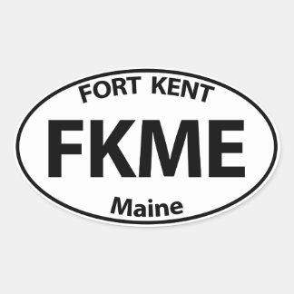 FKME Bumpah Stickah Oval Sticker