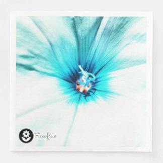 FʟᴏᴡPᴏᴡ | Bindweed ~ Turquoise Disposable Napkin