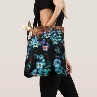 FʟᴏᴡPᴏᴡ | Pansy ~ Blueberry Tote Bag