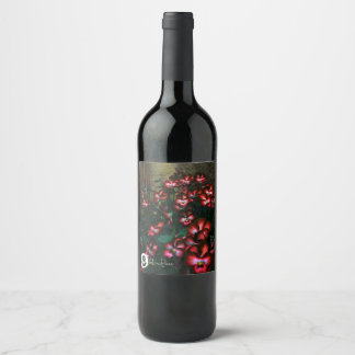 FʟᴏᴡPᴏᴡ | Pansy Glow ~ Red Wine Label