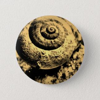 FʟᴏᴡPᴏᴡ | Snail ~ Phoebe 6 Cm Round Badge