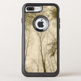 FʟᴏᴡPᴏᴡ | Wood ~ Sepia OtterBox Commuter iPhone 8 Plus/7 Plus Case