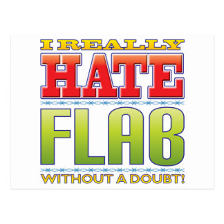 Flab Hate Post Card