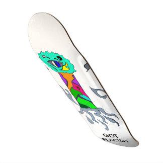 Flacid 20.6 Cm Skateboard Deck