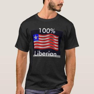 flag3, Liberian, 100% T-Shirt