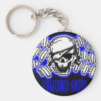 flag5pirate3art2, BLUEYFAB SMALL Key Ring