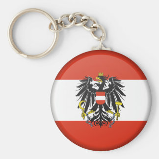 "Flag 2.25"" Basic Button Keychain"
