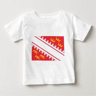 Flag Alsace (France) Drapeau Alsace Flagge Elsass Baby T-Shirt