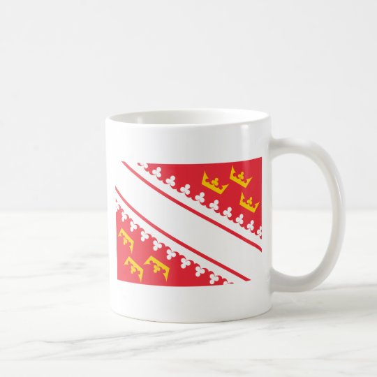 Flag Alsace (France) Drapeau Alsace Flagge Elsass Coffee Mug