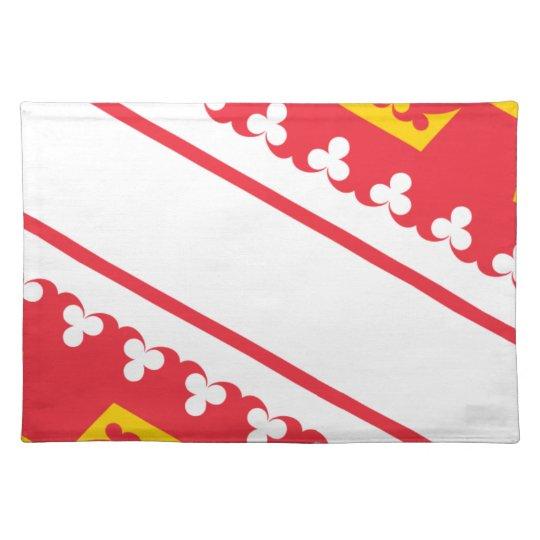 Flag Alsace (France) Drapeau Alsace Flagge Elsass Place Mats