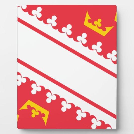 Flag Alsace (France) Drapeau Alsace Flagge Elsass Plaque