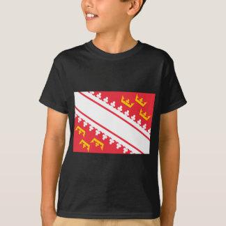 Flag Alsace (France) Drapeau Alsace Flagge Elsass T-Shirt