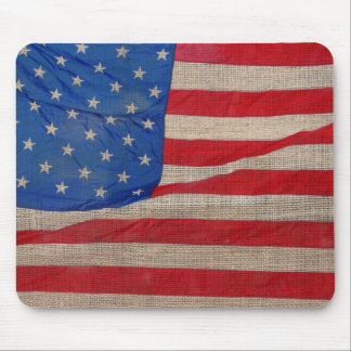 Flag Americana Mouse Pad