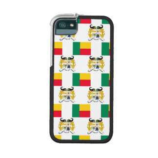 Flag and Crest of Benin iPhone 5 Case