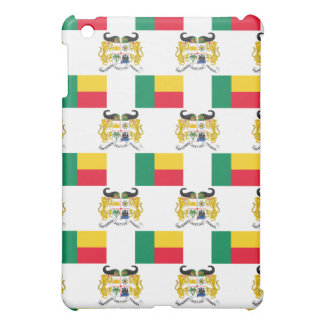 Flag and Crest of Benin iPad Mini Covers