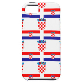 Flag and Crest of Croatia Case For The iPhone 5