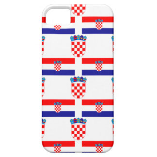 Flag and Crest of Croatia iPhone 5 Cover