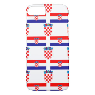 Flag and Crest of Croatia iPhone 7 Case
