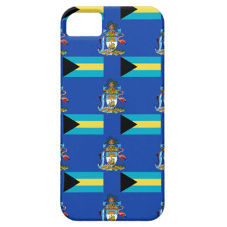 Flag and Crest of the Bahamas Barely There iPhone 5 Case