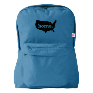 Flag and Map Backpack