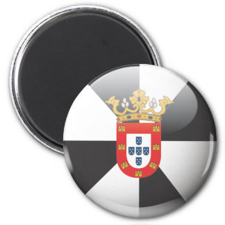 Flag and shield of Ceuta Magnet
