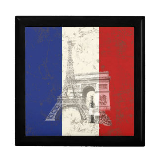 Flag and Symbols of France ID156 Gift Box