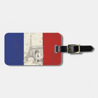 Flag and Symbols of France ID156 Luggage Tag
