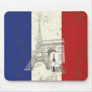 Flag and Symbols of France ID156 Mouse Pad