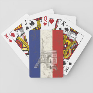 Flag and Symbols of France ID156 Playing Cards