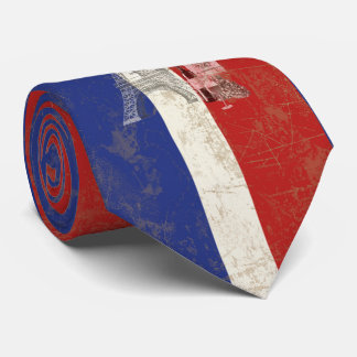 Flag and Symbols of France ID156 Tie