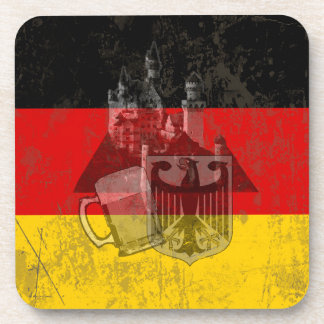 Flag and Symbols of Germany ID152 Coaster