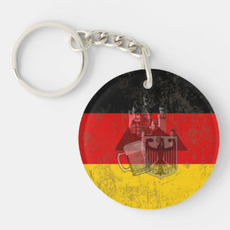 Flag and Symbols of Germany ID152 Key Ring