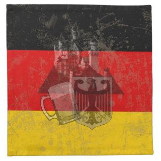 Flag and Symbols of Germany ID152 Napkin