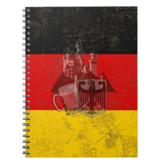 Flag and Symbols of Germany ID152 Notebook