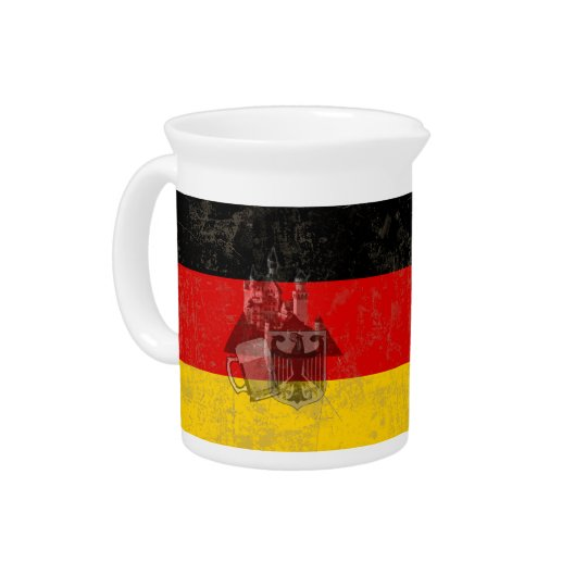 Flag and Symbols of Germany ID152 Pitcher