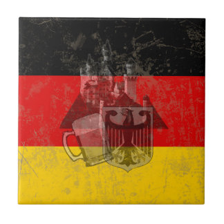 Flag and Symbols of Germany ID152 Tile