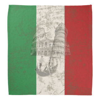 Flag and Symbols of Italy ID157 Bandana