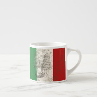 Flag and Symbols of Italy ID157 Espresso Cup