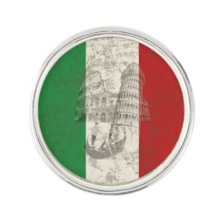 Flag and Symbols of Italy ID157 Lapel Pin
