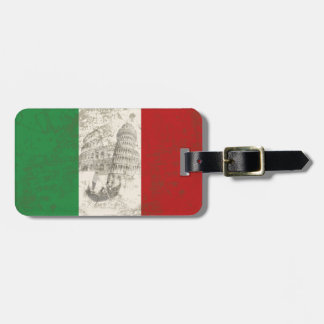 Flag and Symbols of Italy ID157 Luggage Tag