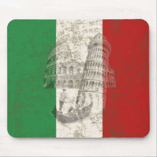 Flag and Symbols of Italy ID157 Mouse Pad