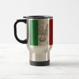 Flag and Symbols of Italy ID157 Travel Mug