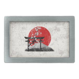 Flag and Symbols of Japan ID153 Belt Buckle