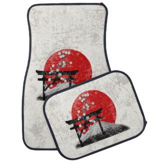 Flag and Symbols of Japan ID153 Car Mat