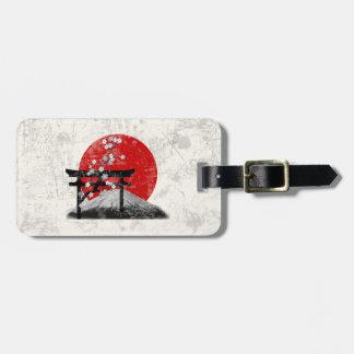 Flag and Symbols of Japan ID153 Luggage Tag