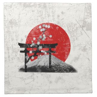 Flag and Symbols of Japan ID153 Napkin